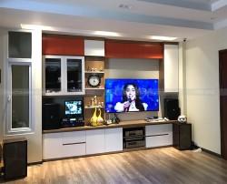 Dàn karaoke JBL của gia đình anh Hải ở Thanh Xuân, HN ( KP4010, KX 180, Crown T5, UGX12)
