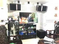 Dàn karaoke JBL trị giá hơn 30 triệu của gia đình anh Thông ở Đà Nẵng (JBL Ki 510, R120SW, Crown T3