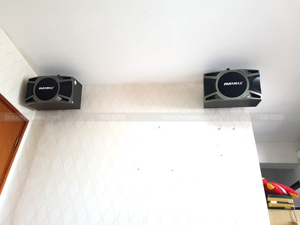 Dàn karaoke Paramax của gia đình chị Lan ở Quận 8 ( Paramax D1000, Jamo J10, 303E Classic, BCE U900 Plus X, Hanet 1TB)