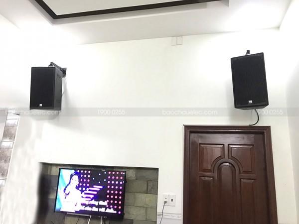 Lắp đặt dàn karaoke Alto cho gia đình anh Si ở Trảng Bom, Đồng Nai ( Alto AT1000, Sub 2000,  SAE CT6000, FX 9MK, BCE U900 PlusX)