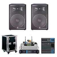 Dàn âm thanh hội trường 50m2 BC-JBL01