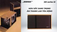Loa Bose 301 seri 3 hàng bãi (vàng)