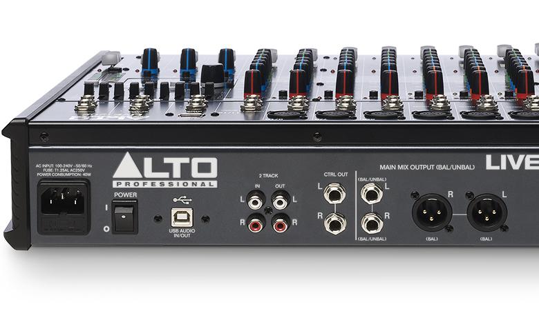 Bàn mixer Alto Live1202 12kênh/2bus