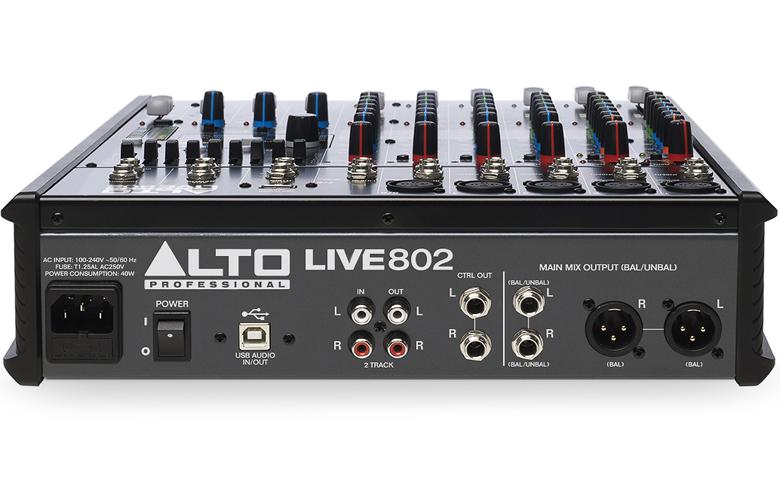 Bàn mixer Alto Live802 8 kênh/2bus