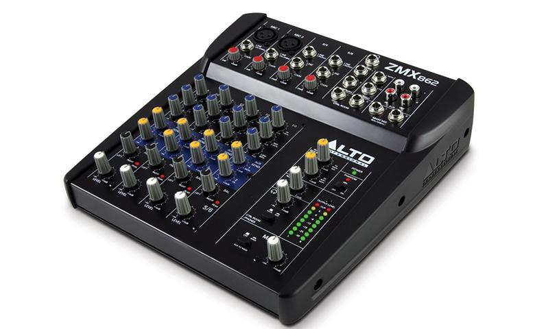 Bàn mixer mini Alto ZMX862 (6 kênh)