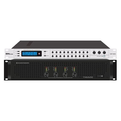 Combo KM04 (SoundStandard TX650Q+ Bksound DSP-9000)