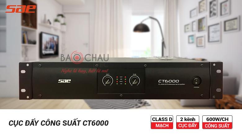 Cục công suất SAE CT6000 chính hãng giá tốt