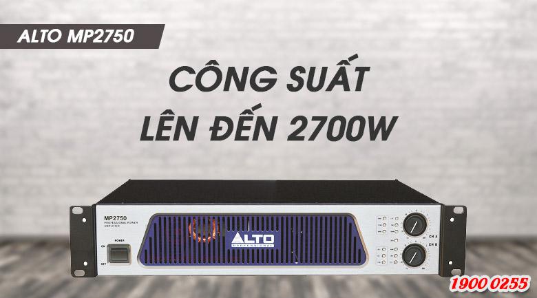 Cục đẩy Alto MP 2750 tính năng