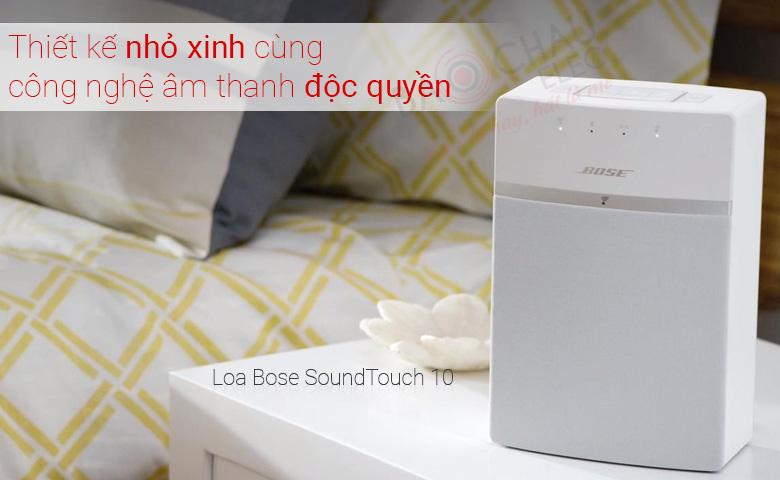 Loa BoseSoundTouch 10 (Trắng) tính năng