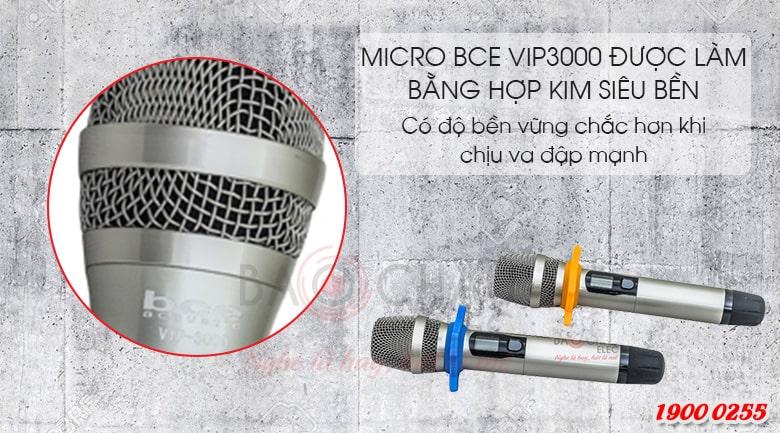 Micro không dây BCE Vip 3000 chính hãng, giá tốt