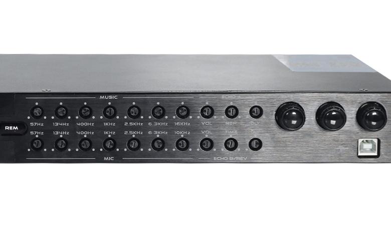 Vang số chỉnh cơ Listensound FX-9MK mặt trước