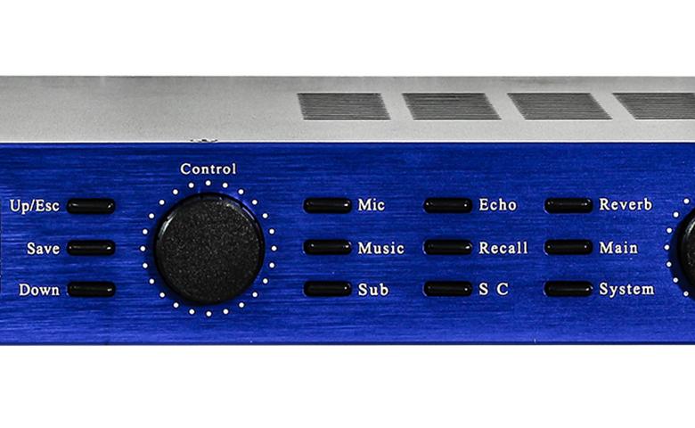 Vang số karaoke BF Audio k6+ mặt trước 2