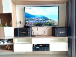 Bộ dàn karaoke BIK của gia đình anh Hoàn ở Tân Phú ( BIK S886, SAE Ct3000, X5 Plus, BBS B900)