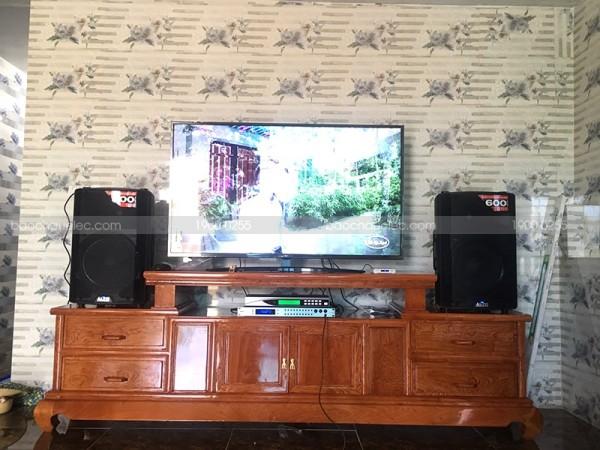 Dàn karaoke Alto cho gia đình anh Quỳnh ở Đông Sơn, Thanh Hoá ( Alto TX212, BKsound 9000, U900 Plus New)