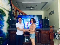 Dàn karaoke BMB cho gia đình Bác Đường ở Hồng Bàng, Hải Phòng ( BMB 3012, NS-SW300, Crown T7, FX-9MK, BCE UGX12)