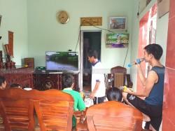 Dàn karaoke cho gia đình anh Diệp ở Hậu Lộc, Thanh Hoá ( KTWO 10, Famous 3206, X5 Plus, BCE UGX12)