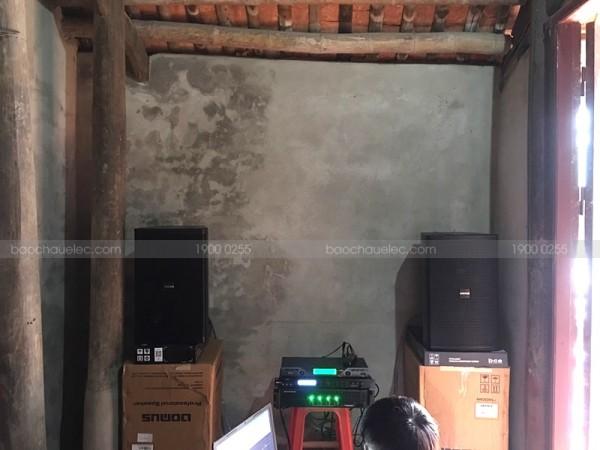 Dàn karaoke Domus cho gia đình anh Quỳnh ở Hoằng Hoá, Thanh Hoá ( Domus DP6120, X5 Plus, TX650Q, U900 Plus)