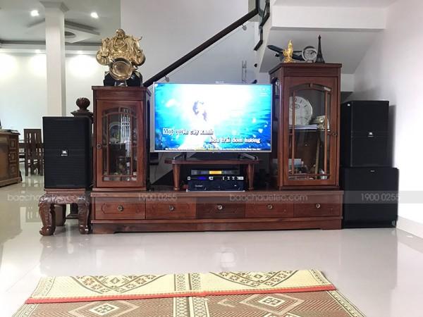 Dàn karaoke JBL cao cấp của gia đình anh Dũng ở Điện Biên Phủ ( JBL 4012, Klipsch SPL 150, Crown T7, JBL KX180, BCE VIP3000)