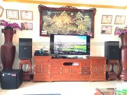 Dàn karaoke JBL của gia đình chị Lan ở Kiến An, Hải Phòng ( JBL 4015, Alto TS312, JBL KX180, BCE 9200)