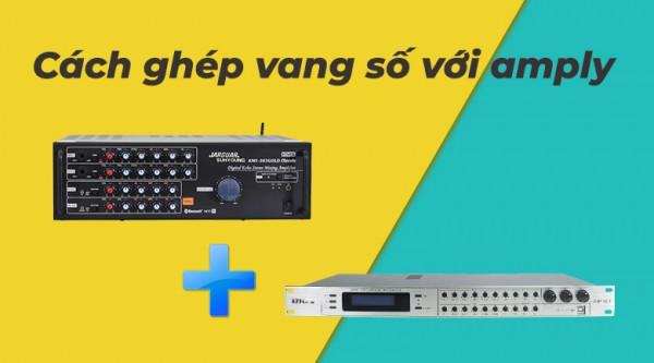 Cách kết nối VANG SỐ với AMPLY Karaoke chi tiết nhất