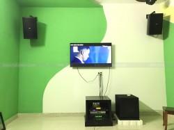 Lắp đặt 3 phòng hát kinh doanh cho anh Thắng ở Núi Thành, Quảng Nam ( Domus 6120, Alto AT200, R115SW, TX650Q, JBL KX180, Plus 4TB, UGX12)