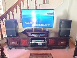 Lắp đặt dàn karaoke Alto cho gia đình anh Mạnh ở Hoằng Hoá, Thanh Hoá ( Alto AT1000, Famous 3206, DSP 9000, U900 Plus New)