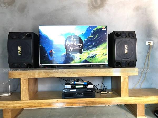 Lắp đặt dàn karaoke BMB cho gia đình anh Hưng ở Phúc Yên, Vĩnh Phúc ( BMB 2000C, X5 Plus, BCE 8200, BCE UGX12)