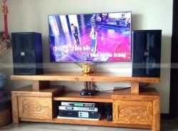 Lắp đặt dàn karaoke BMB cho gia đình anh Tú ở Hoà Bình Green City ( BMB 3000C, Famous 3206, DSP 9000, U900 Plus)