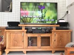 Lắp đặt dàn karaoke Bose cho gia đình anh Toàn ở Bình Tân ( 301 seri 5, 303E Classic, U900 Plus New)