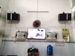Lắp đặt dàn karaoke JBL cho gia đình anh Đại ở Quận 12 (JBL ki512, sub 1000, SAE CT6000, X5 Plus, BCE UGX12)
