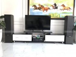 Lắp đặt dàn karaoke Paramax của gia đình anh Hoà ở Long An ( F2000 New, 303E Classic, U900 Plus New)