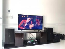 Lắp đặt dàn karaoke trị giá 33,2 triệu cho gia đình anh Thuyết ở Thái Bình (Domus 6120, Sub 2000, Famous 3206, X5 plus, UGX12)