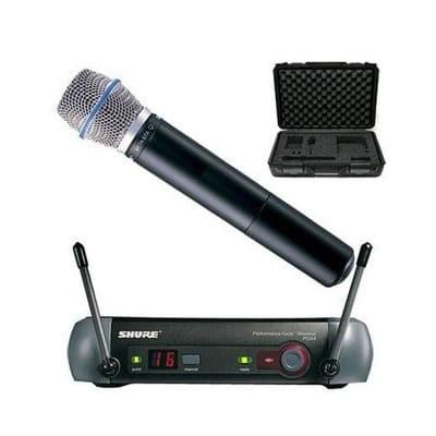 Micro Shure PGX24A/Beta87A