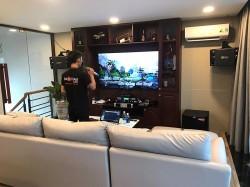 Dàn karaoke cao cấp cho gia đình anh Tân ở Quận 1, HCM ( BMB 880C, 301 seri 5, Alto TS312, Famous 7406, KX 180, UGX12)