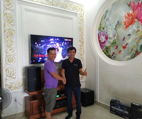Dàn karaoke JBL cho gia đình anh Thuận ở Hóc Môn (JBL 4010, Klipsch SPL100, SAE CT6000, DSP-9000, BCE UGX12)