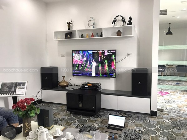 Dàn karaoke JBL cao cấp của gia đình chị Thảo ở Cẩm Lệ, Đà Nẵng (JBL 4012, sub BIK W66, TX650Q, X5 Plus, UGX12 Gold, Plus 4TB)