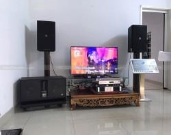 Dàn karaoke JBL VIP cho gia đình anh Lý ở Đỗ Quang, Thanh Khê, ĐN ( JBL 4012, Sub BJ-W66 Plus, vang JBL KX180, Đẩy Famous 7406, DBX 131S)