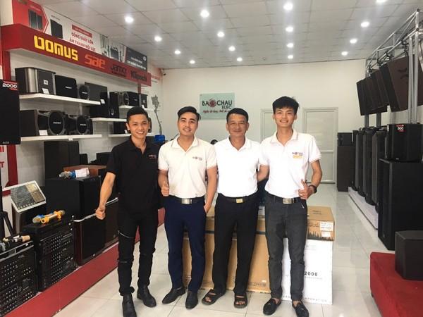 Lắp đặt dàn karaoke Alto cho gia đình anh Tuyến ở Nông Cống, Thanh Hoá (Alto AT2000, Paramax 2000, BCE 6200, BF K6, BCE U900 PlusX)