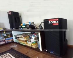 Lắp đặt dàn karaoke Alto cho gia đình chị Hoà ở Đại Lộ Thăng Long ( Alto 310, DSP 9000, BCE UGX12)