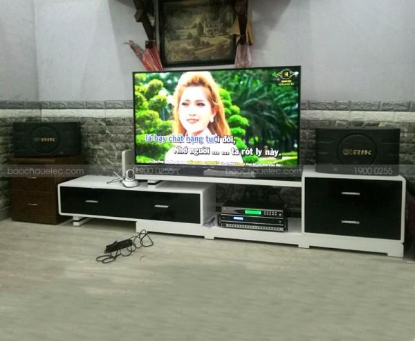 Lắp đặt dàn karaoke BIK cho gia đình anh Tân ở Từ Liêm, Hà Nội ( BIK 668, BKsound DP-35000, U900 Plus X)