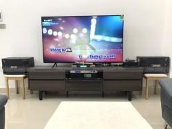 Lắp đặt dàn karaoke BMB cho gia đình cô Yến ở Tân Phú ( BMB 880C, Famous 3206, DSP-9000, UGX12, Hanet 1TB)