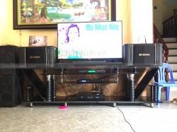 Lắp đặt dàn karaoke cho gia đình anh Đạm ở Quế Võ, Bắc Ninh ( BIK S968, SAE CT6000, FX-9MK, U900 PlusX)