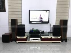 Lắp đặt dàn karaoke cho gia đình anh Nhân ở Bình Thạnh ( Domus 6100, Jamo J10, JBL KX180, BCE 6200, BCE UGX12)