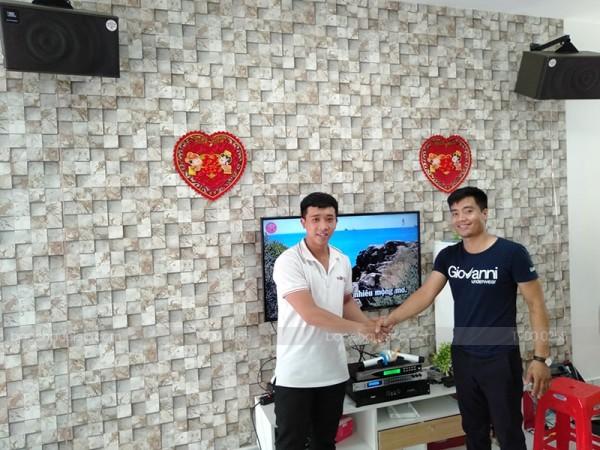 Lắp đặt dàn karaoke JBL cho gia đình anh Tín ở HCM ( JBL Mk10, DSP 9000, SAE CT3000, U900 PlusX)