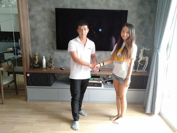 Lắp đặt dàn karaoke JBL của gia đình anh Minh ở Quận 4 ( JBL MK10, DSP-9000, SAE CT3000, U900 Plus X)