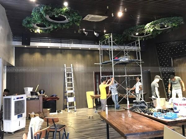 Lắp đặt dàn karaoke kinh doanh cho quán Saigon Brown Cafe ở Đà Nẵng ( Domus 6120, V18S, Famous 7406, Famous 7208, JBL KX180, UGX12 Plus)