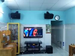Lắp đặt dàn karaoke JBL cho gia đình anh Đắc ở Quận 7 (JBL 4012, sub klipsch, Crown XLi 2500, JBL KX180, UGX12 Plus)