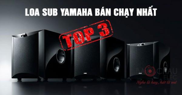 Top 3 loa sub điện Yamaha sản xuất bán chạy nhất