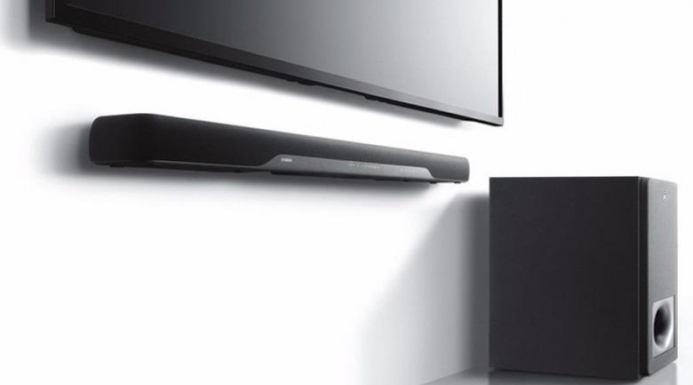Loa Soundbar Yamaha YAS-207 lắp đặt dễ dàng với dàn âm thanh gia đình