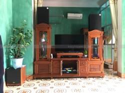 Dàn karaoke gia đình anh Cầu ở Vũ Ninh, Bắc Ninh (Alto At2000, 604No8, Dp9200+, BCE 6200, BCE UGX12)